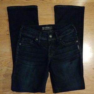 Silver Denim Jeans